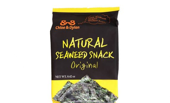 CHLOE & DYLAN Natural Vegan Seaweed Snack